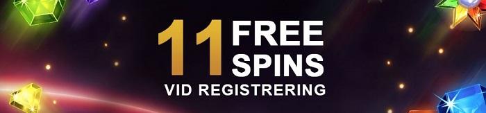 freespins vid registrering