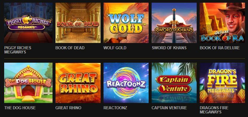 videoslots casino spel